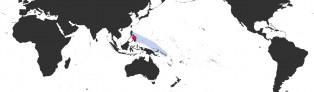 Distribution Map of Leporicypraea valentia