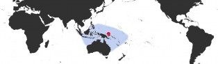 Distribution Map of Mauritia arabica