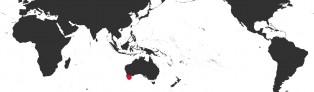 Distribution Map of Zoila marginata albanyensis