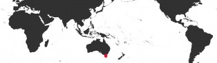 Distribution Map of Notocypraea subcarnea