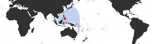 Distribution Map of Perisserosa guttata guttata