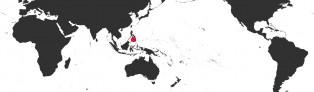 Distribution Map of Ficadusta pulchella aliguayensis