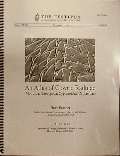 An Atlas of Cowrie Radulae